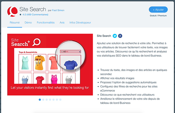 Site Search Wix