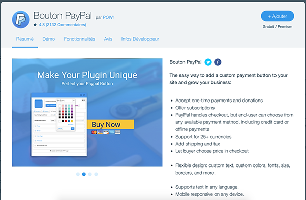 PayPal Wix