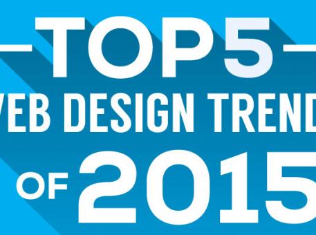 Webdesign : les 5 tendances qui ont marqué 2015