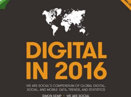 Le Digital dans le monde en 2016 : chiffres clés Web, Social Media, Mobile